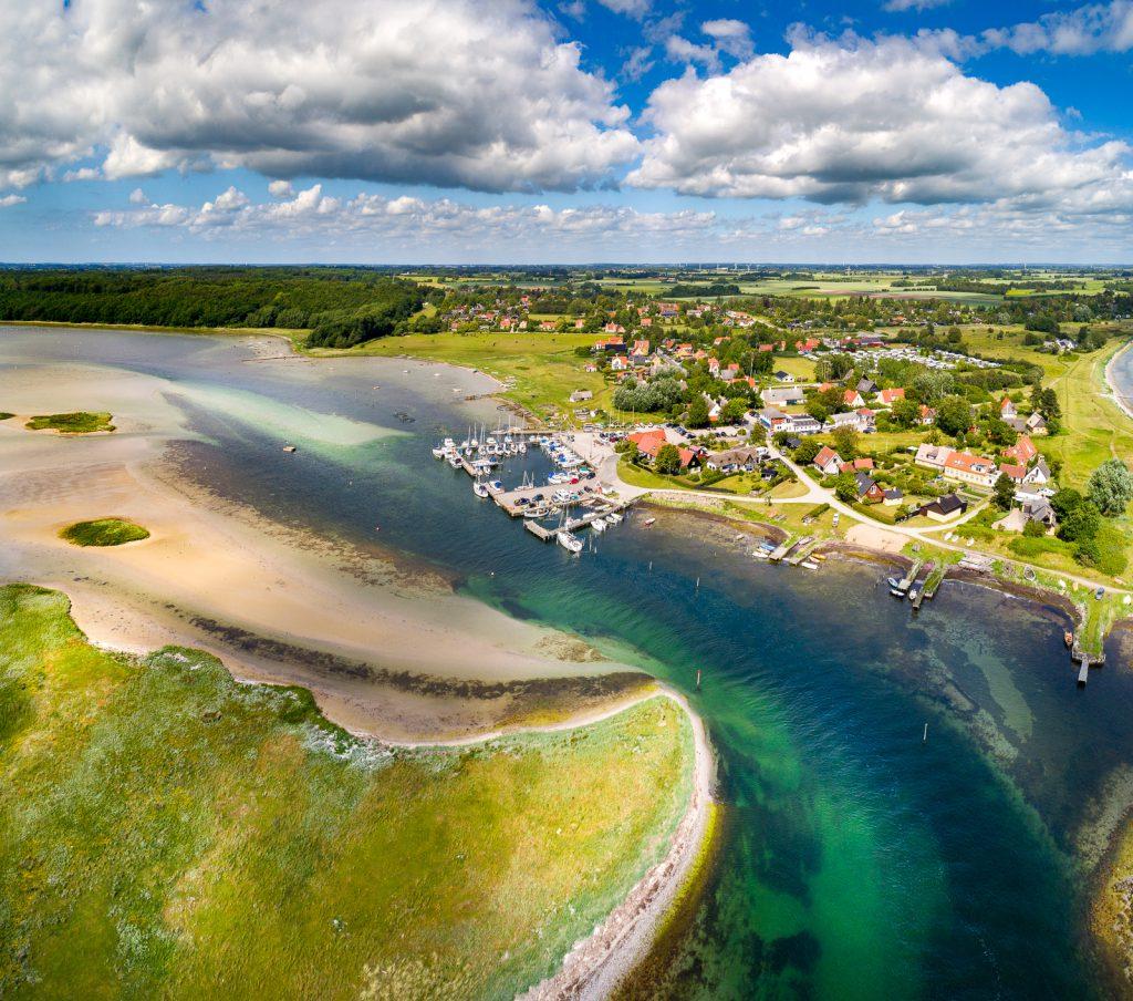 Dronefotograf på Sjælland - Bisserup