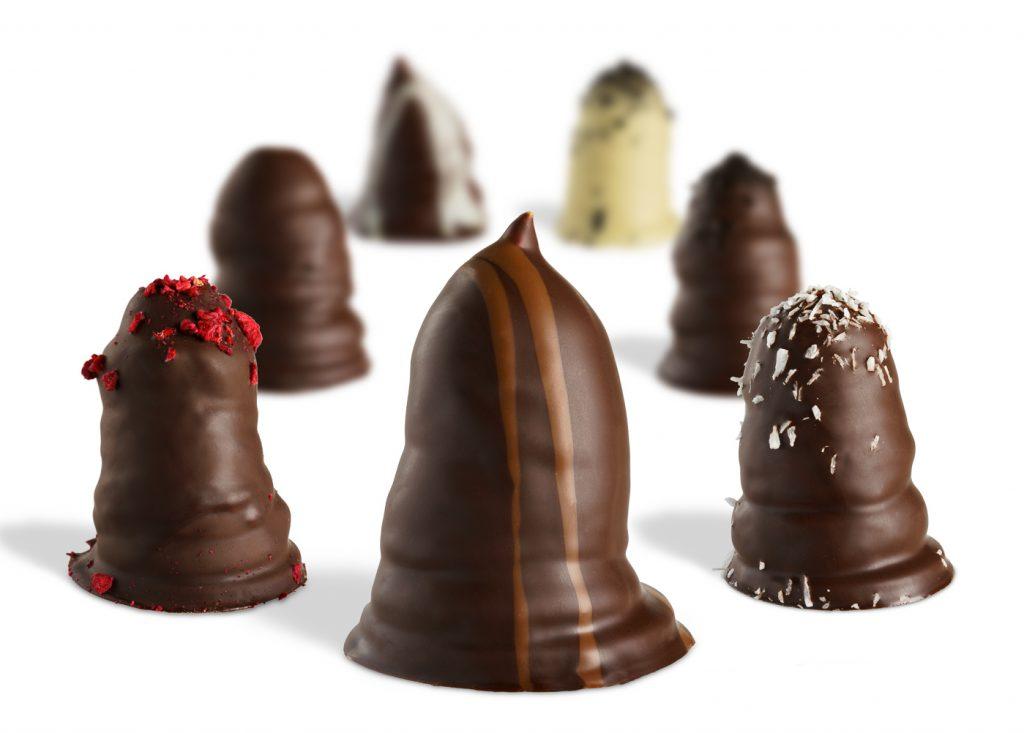 Packshot af chokolade