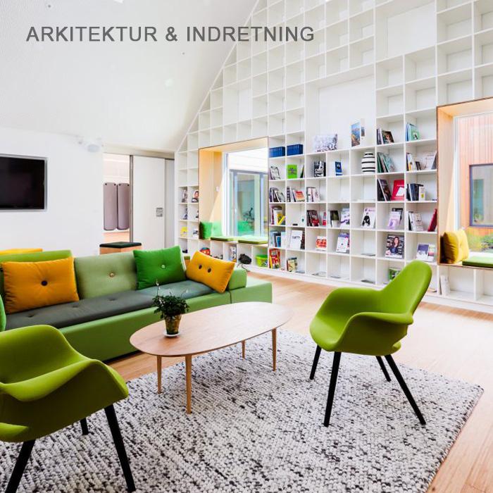 Arkitekturfoto og indretning