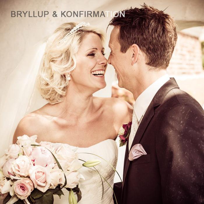 Bryllupsfoto & konfirmation