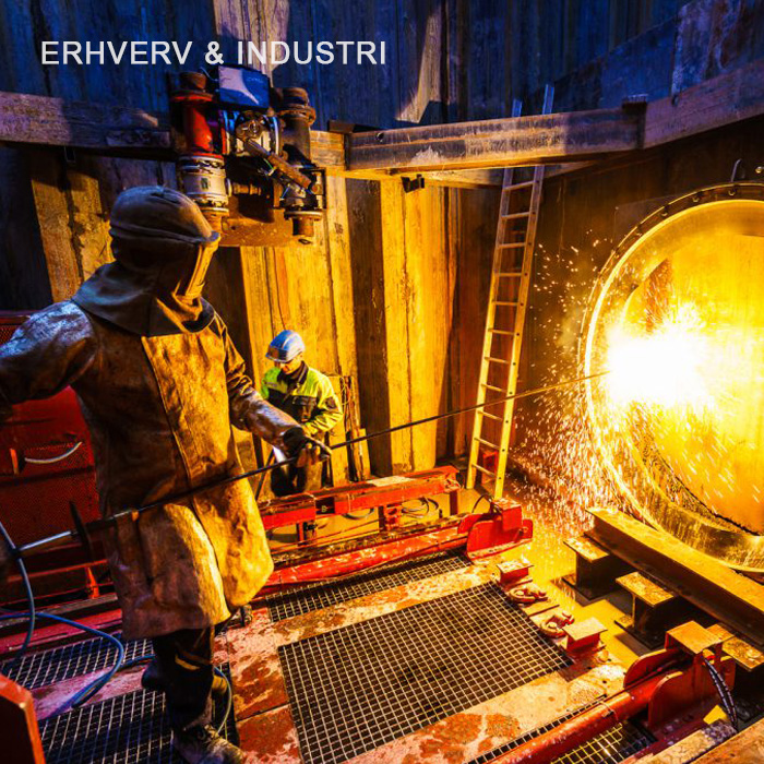 Erhvervs- og industrifotografering
